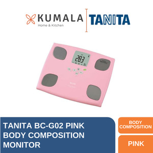 Harga tanita timbangan badan digital bc g02 body composition monitor   merah | HARGALOKA.COM