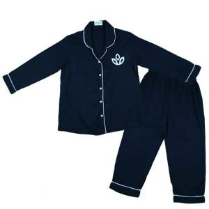 Harga scoora nyx baju tidur piyama anak warna putih hitam navy unisek   HARGALOKA.COM