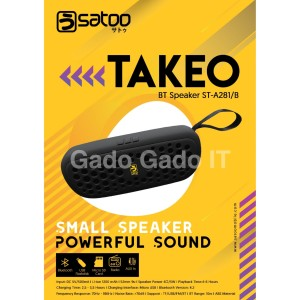 Harga speaker bluetooth satoo takeo portable speaker music box mp3 amp | HARGALOKA.COM