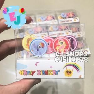 Harga Lilin Ulang Tahun Ultah Hbd Lilin Karakter Little Pony Katalog.or.id