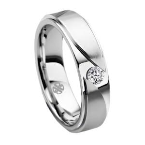 Harga cincin kawin nikah tunangan emas putih 25 d 101 single | HARGALOKA.COM