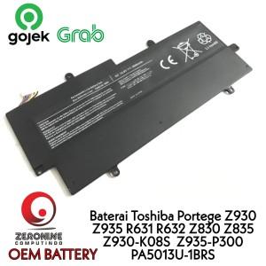 Harga baterai toshiba portege z830 r632 r631 z935 z930 z835 z930 k08s   HARGALOKA.COM