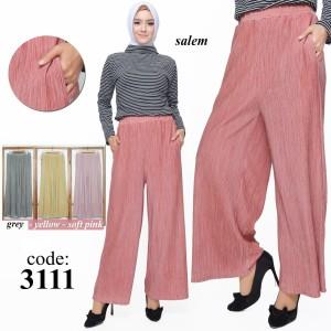 Harga red one celana kulot prisket hanover stretch fashion wanita 3111   | HARGALOKA.COM