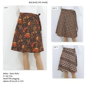 Harga bawahan batik rok batik lilit | HARGALOKA.COM