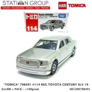 Harga tomica 798491 114 regular toyota century silver | HARGALOKA.COM