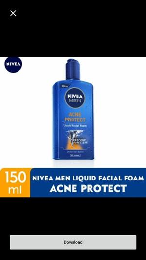 Harga nivea men fuji ace mud serum facial foam sabun pembersih wajah | HARGALOKA.COM