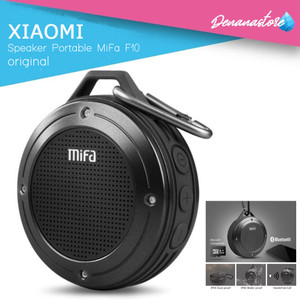 Harga speaker original bluetooth xiaomi mifa f10 outdoor portable   hitam   | HARGALOKA.COM