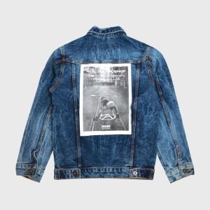 Harga peyton blue   jaket jeans oversize   epidemic   | HARGALOKA.COM