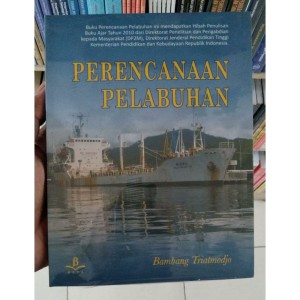 Harga buku ori perencanaan pelabuhan   bambang triatmodjo beta | HARGALOKA.COM