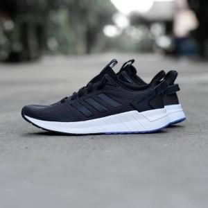 Harga sepatu lari adidas original questar olahraga pria sneakers   HARGALOKA.COM
