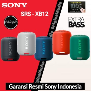 Harga sony srs xb12   xb 12 portable speaker garansi resmi sony   HARGALOKA.COM