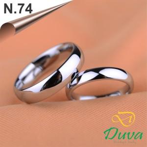 Harga cincin kawin nikah tunangan couple emas putih 75 dan perak n | HARGALOKA.COM
