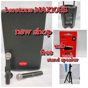 Harga speaker portable meeting wireless baretone max 10 he   HARGALOKA.COM