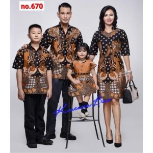 Harga 670 couple batik keluarga dewasa m xl anak 2   5 thn sarimbit | HARGALOKA.COM