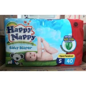 Harga happy nappy baby diaper size s isi 40 popok bayi perekat size   HARGALOKA.COM