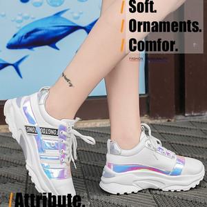 Harga sepatu wanita sneakers wanita sepatu import perempuan korea sp 054   orange | HARGALOKA.COM