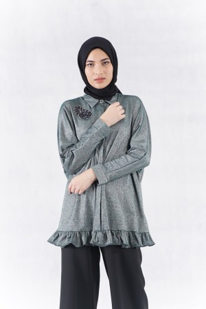 Harga silver all the glitters tunic   busana | HARGALOKA.COM