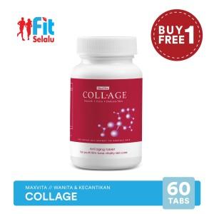 Harga maxvita collage kecantikan kulit kolagen 60   HARGALOKA.COM