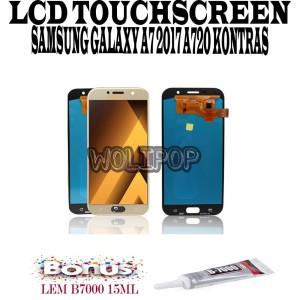 Harga bonus lem b7000 lcd touchscreen samsung galaxy a7 2017 a720 | HARGALOKA.COM
