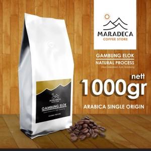 Harga kopi arabika gambung elok natural 1000gr gambung ciwidey jawa barat   | HARGALOKA.COM