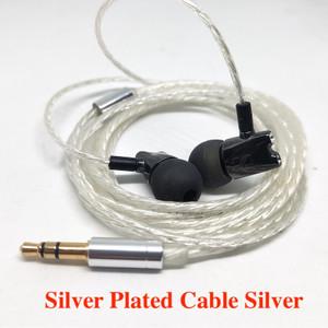 Harga custom earphone diy ceramic sennheiser ie800 hifi balance tuning   silver | HARGALOKA.COM