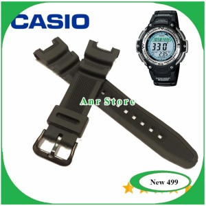 Harga tali jam tangan casio sgw100 sgw 100 sgw 100 original oem buckle   HARGALOKA.COM
