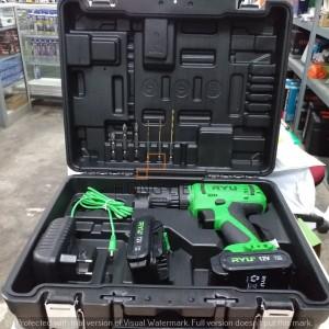 Harga ryu rcd12v cordless drill 2 baterai  bor baterai besi | HARGALOKA.COM