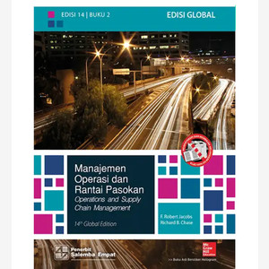 Harga original manajemen operasi dan rantai pasokan buku 2 edisi 14 | HARGALOKA.COM