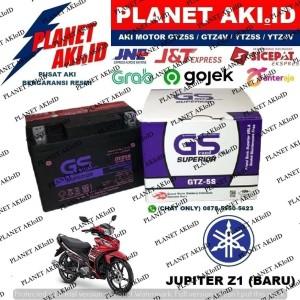 Harga aki motor yamaha jupiter z1 baru gtz5s gs y accu kering | HARGALOKA.COM