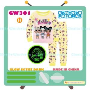 Harga piyama lol surprise glow in the dark pajamas gw 301   2 3 | HARGALOKA.COM