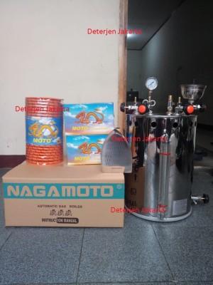 Harga setrika uap boiler otomatis nagamoto 25 liter murah | HARGALOKA.COM