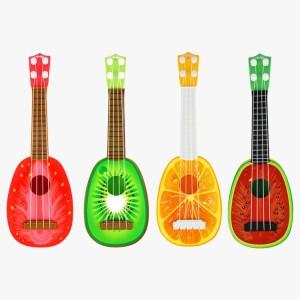 Harga ukulele gitar mainan gambar buah buahan   gitar ukulele | HARGALOKA.COM