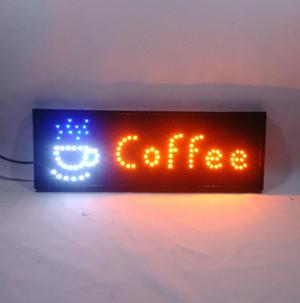 Harga tulisan lampu led sign like running text coffee new   HARGALOKA.COM