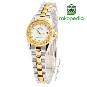 Harga jam mirage original wanita permata rx 1580l kombinasi silver gold | HARGALOKA.COM