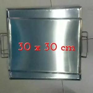 Harga wajan plat persegi panggangan roti kebab ukuran 30 | HARGALOKA.COM