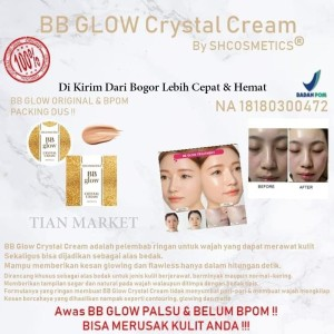 Harga bb glow crystal cream bpom bb glow crystal cream | HARGALOKA.COM