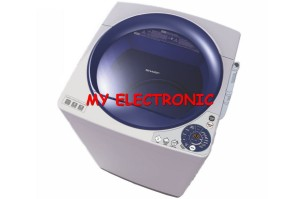 Harga promo mesin cuci sharp 1 tabung es m906p gb gr kapasitas   HARGALOKA.COM