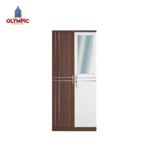 Harga olympic lemari kayu dua pintu lemari pakaian dua pintu marino | HARGALOKA.COM