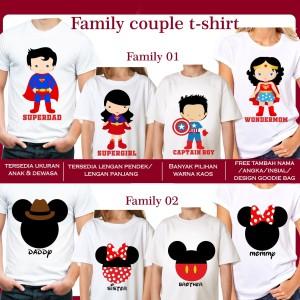 Harga kaos dtg uk anak couple family kompakan | HARGALOKA.COM