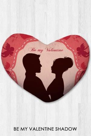 Harga bantal hati kado valentine   be my valentine shadow xtra | HARGALOKA.COM