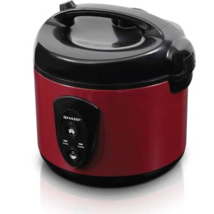Harga sharp   rice cooker 1 8 liter red | HARGALOKA.COM