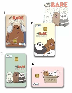 Harga kartu bca flazz we bare bears kartu tol custom   HARGALOKA.COM