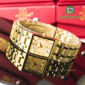 Harga jam tangan mirage wanita gold 7908l pk     HARGALOKA.COM
