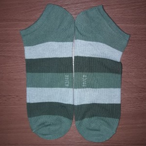 Harga kaos kaki sneaker pria 39   42 tricolor   | HARGALOKA.COM