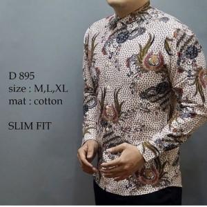 Harga kemeja batik pria baju lengan pendek baju batik modern mbl   HARGALOKA.COM