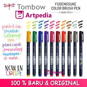 Katalog Tombow Fudenosuke Brush Pen Hard Katalog.or.id