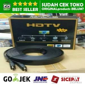 Harga kabel hdmi ke lcd tv led proyektor to full hd 15m 15 m meter 3d | HARGALOKA.COM