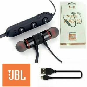 Harga headset bluetooth sport jbl earphone handsfree metal solid magnet bm1   | HARGALOKA.COM