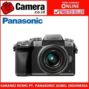 Harga panasonic lumix dmc g7 kit 14 42mm   silver kamera | HARGALOKA.COM