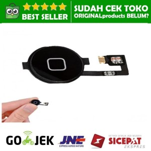Harga home button iphone 4 4s 4g cdma tombol menu fleksibel | HARGALOKA.COM